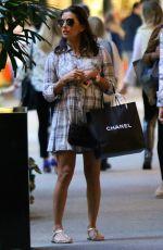 EVA LONGORIA Shopping at Bal Harbour 11/25/2015