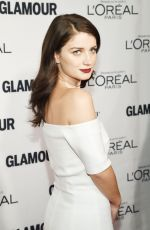 EVE HEWSON at Glamour's 25th Anniversary Women of the Year Awards in New York 11/09/2015
