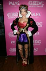 FARRAH ABRAHAM at Day of the Killer Costumes Halloween Party in Las Vegas 10/25/2015
