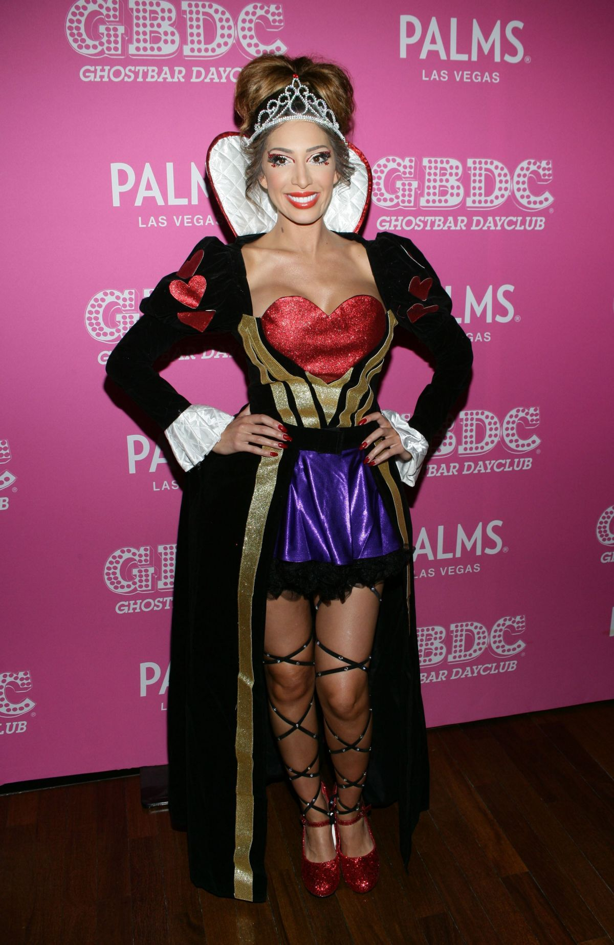 FARRAH ABRAHAM at Day of the Killer Costumes Halloween Party in ...