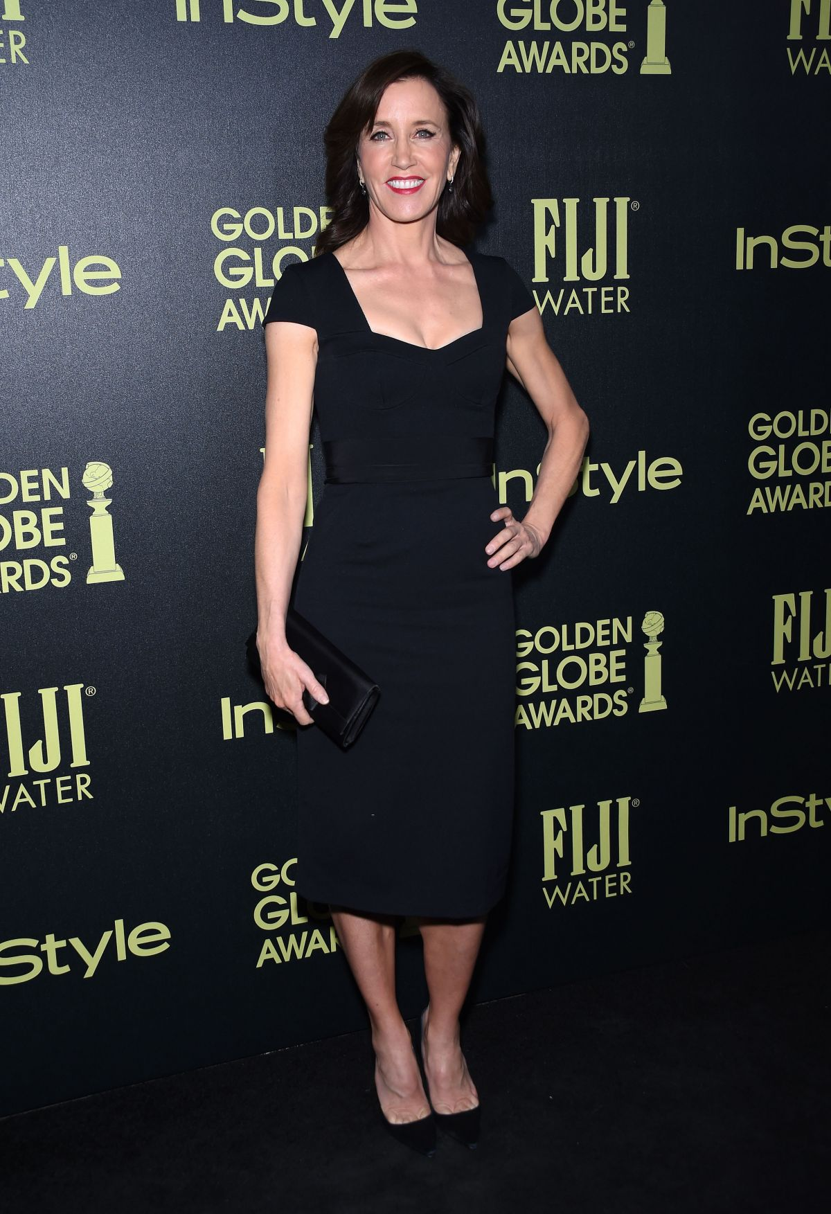 FELICITY HUFFMAN at hfpa and Instyle Celebrate 2016 Golden Globe Award Season in West Hollywood 11/17/2015