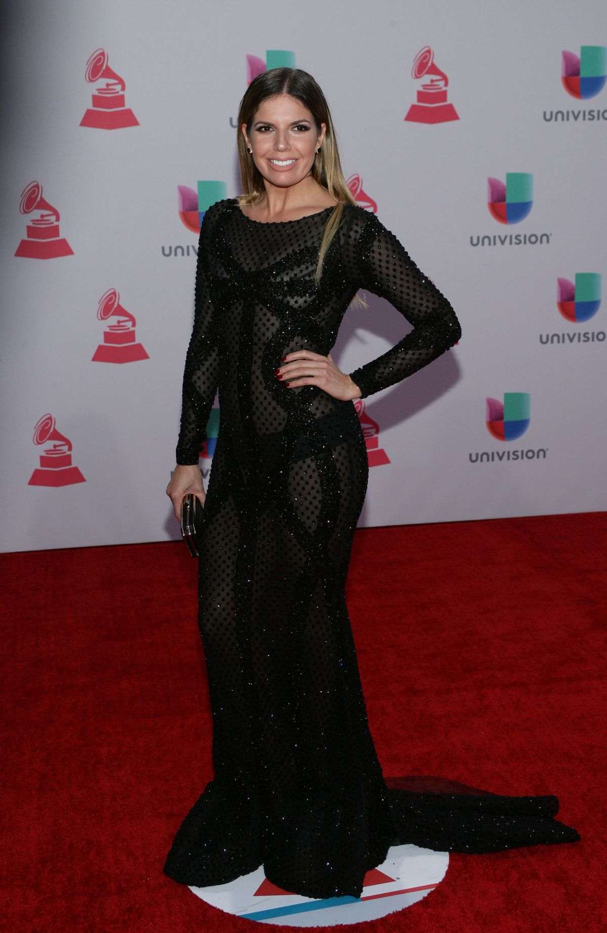 FERNANDA KELLY at 2015 Latin Grammy Awards in Las Vegas 11/18/2015