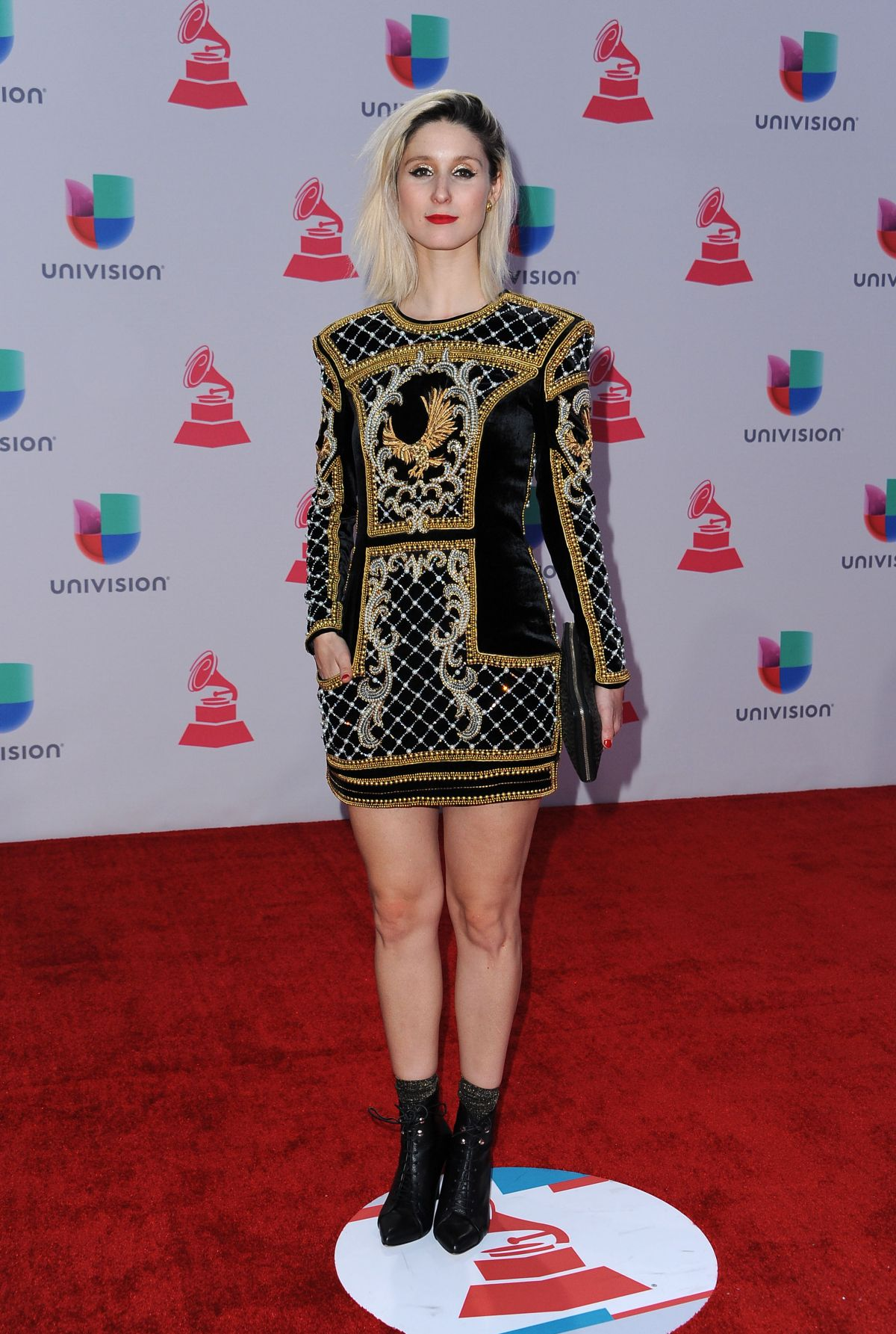 FRANCISCA VELENZUELA at 2015 Latin Grammy Awards in Las Vegas 11/18/2015