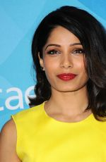 FREIDA PINTO at WWD and Variety's Stylemakers Event in Culver City 11/19/2015
