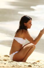 GABRIELLE ANWAR in Bikini at Sandy Lane Hotel in Barbados 11/10/2015