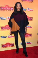 GARCELLE BEAUVAIS at The Lion Guard: Return of the Roar Premiere in Burbank 11/14/2015