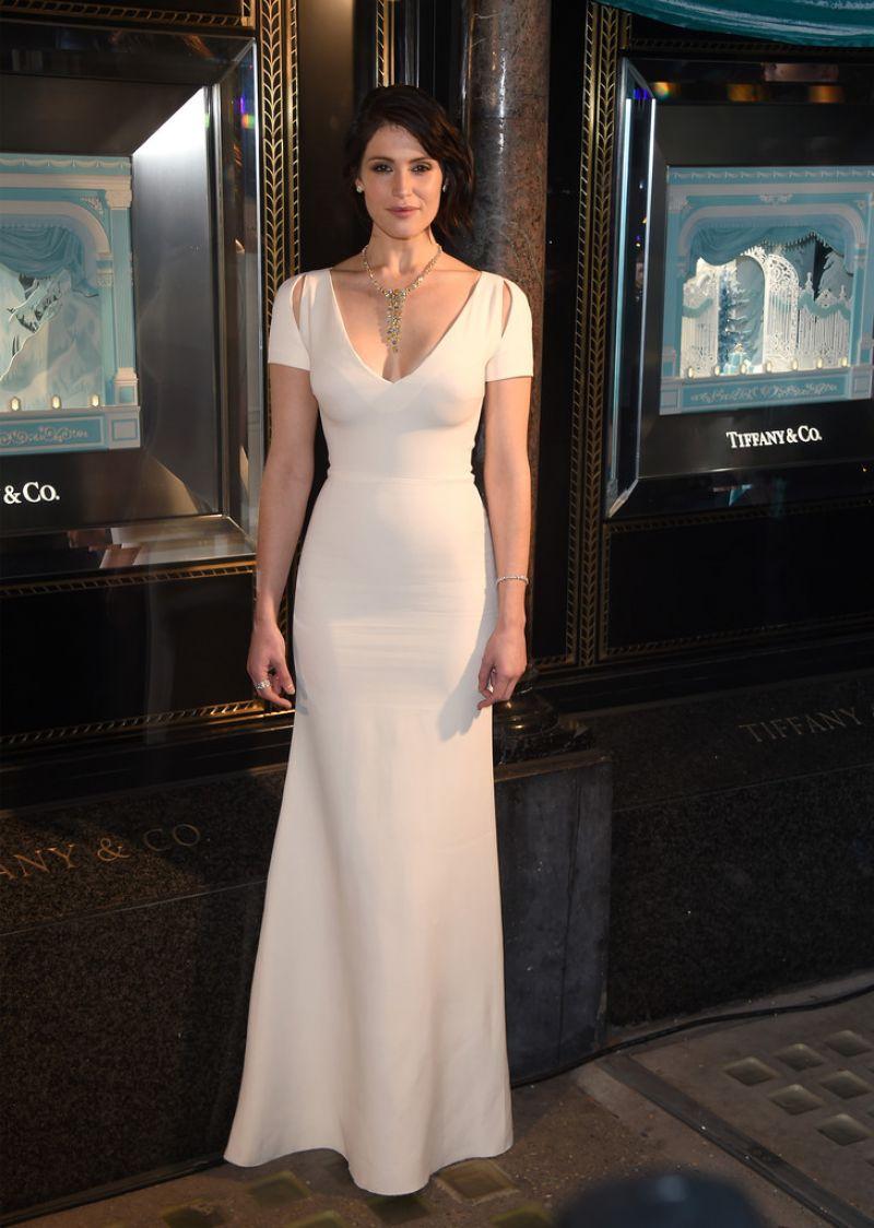 GEMMA ARTERTON Reveals 2015 Tiffany & Co. Christmas Windows in London 11/09/2015