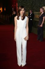 GEMMA CHAN at Evening Standard Theatre Awards in London 11/22/2015
