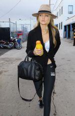 GIGI HADID Arrives at a Spa in Los Angeles 11/03/2015