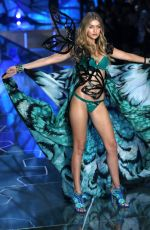 GIGI HADID at Victoria's Secret 2015 Fashion Show in New York 11/10/2015