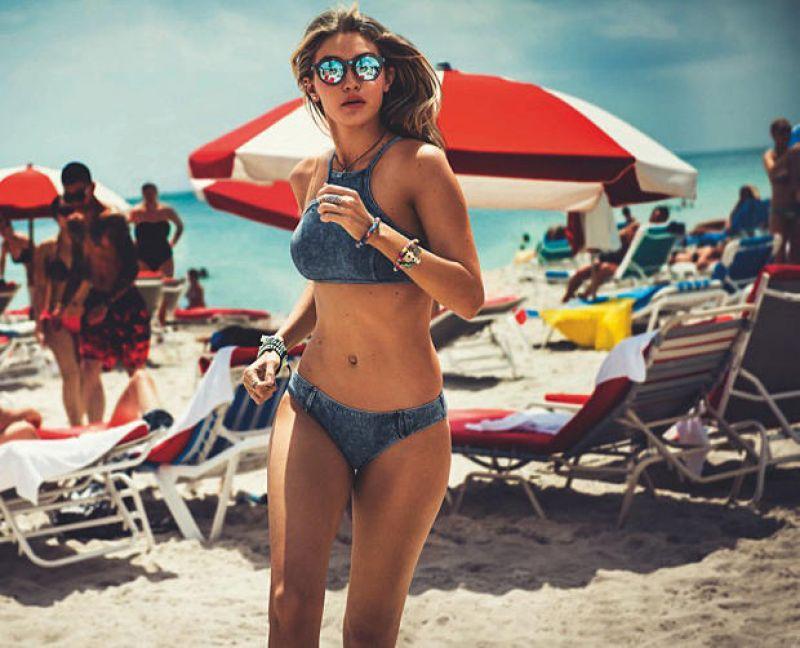ab74f3abb3 GIGI HADID for Seafolly Sunglasses - HawtCelebs