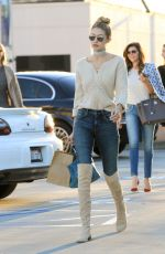GIGI HADID Out and About in Los Angeles 11/17/2015