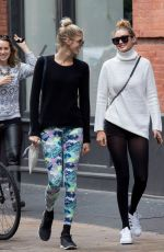 GIGI HADID Out and About in New Yoork 11/05/2015