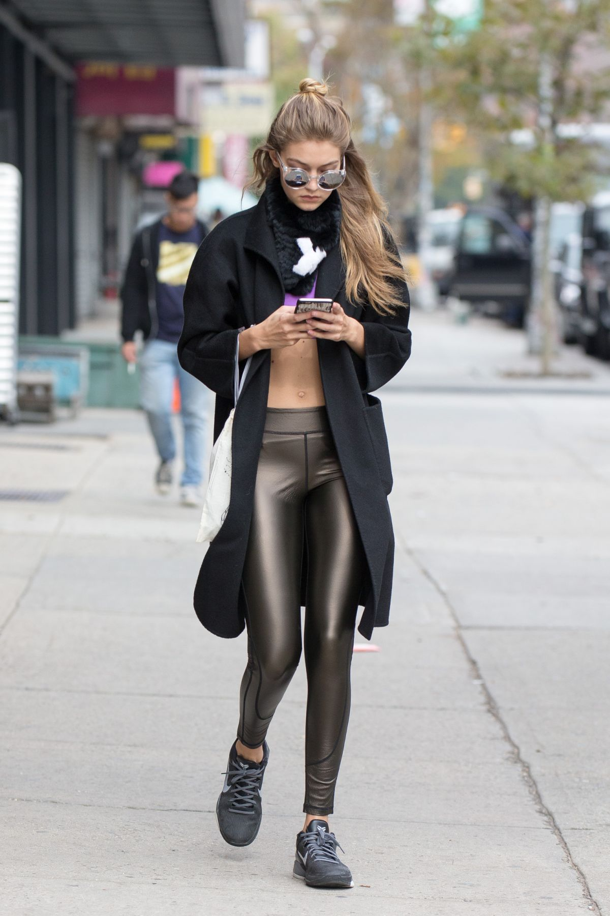 Gigi Hadid Out In New York 11 02 2015 Hawtcelebs