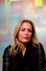 GILLIAN ANDERSON at The X-Files Meet and Greet Promo in Toulouse 11/29/2015