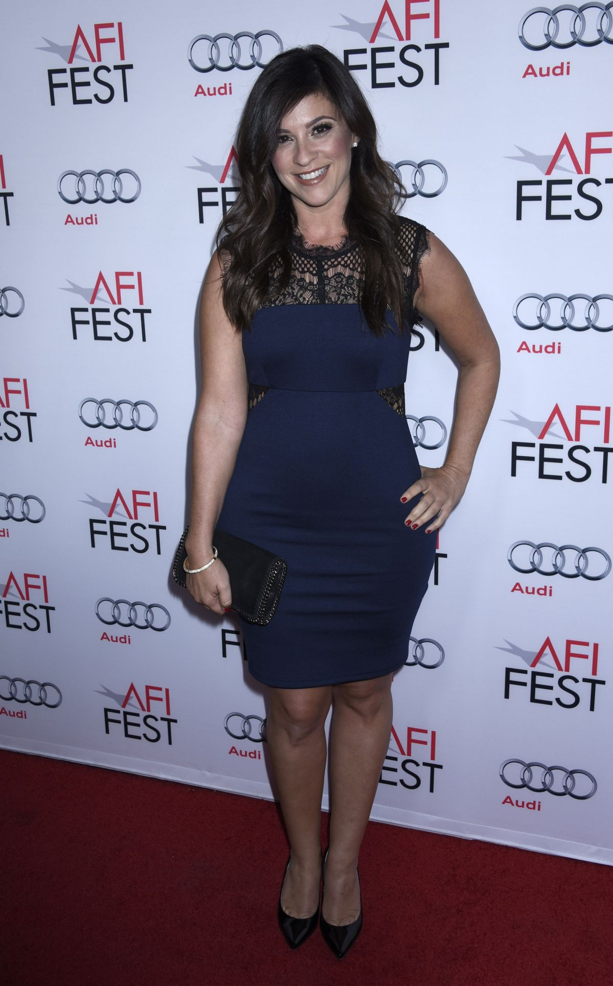 GINA FIELD at AFI Fest 2015 Centerpiece Gala in Hollywood 11/07/2015
