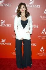 GINA GERSHON at 18th Annual Accessories Council Ace Awards in New York 11/02/2015