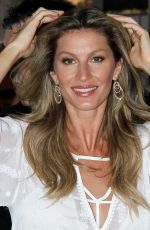 GISELE BUNDCHEN at 20-Year Career Commemorative Book Launch in in Sao Paulo 11/06/2015