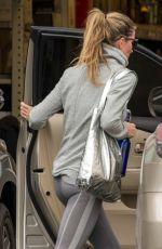 GISELE BUNDCHEN Leaves a Gym in Boston 11/19/2015