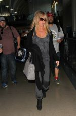 GOLDIE HAWN at LAX Airport in Los Angeles 11/19/2015