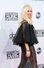 GWEN STEFANI at 2015 American Music Awards in Los Angeles 11/22/2015