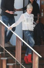GWEN STEFANI Out and About in Los Angeles 10/30/2015