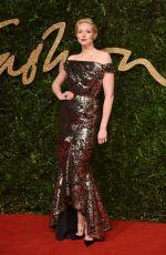 GWENDOLINE CHRISTIE at 2015 British Fashion Awards in London 11/23/2015