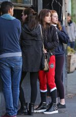 HAILEE STEINFELD Out for Coffee in Vancouver 11/11/2015