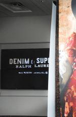 HAILEY BALDWIN at Denim & Supply Ralph Lauren Event in New York 10/28/2015