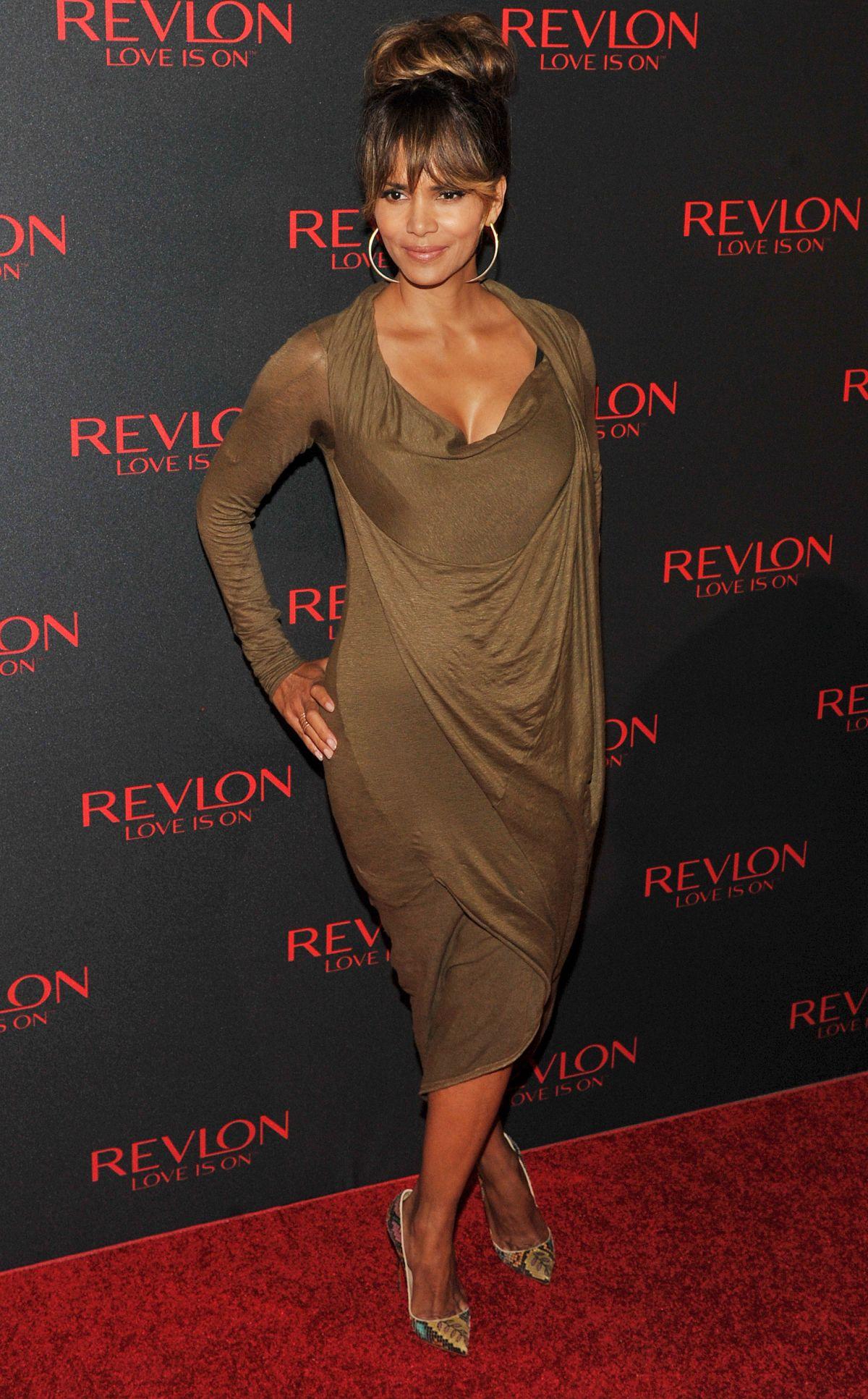 HALLE BERRY at Revlon Love Is On Million Dollar Challenge in New ...