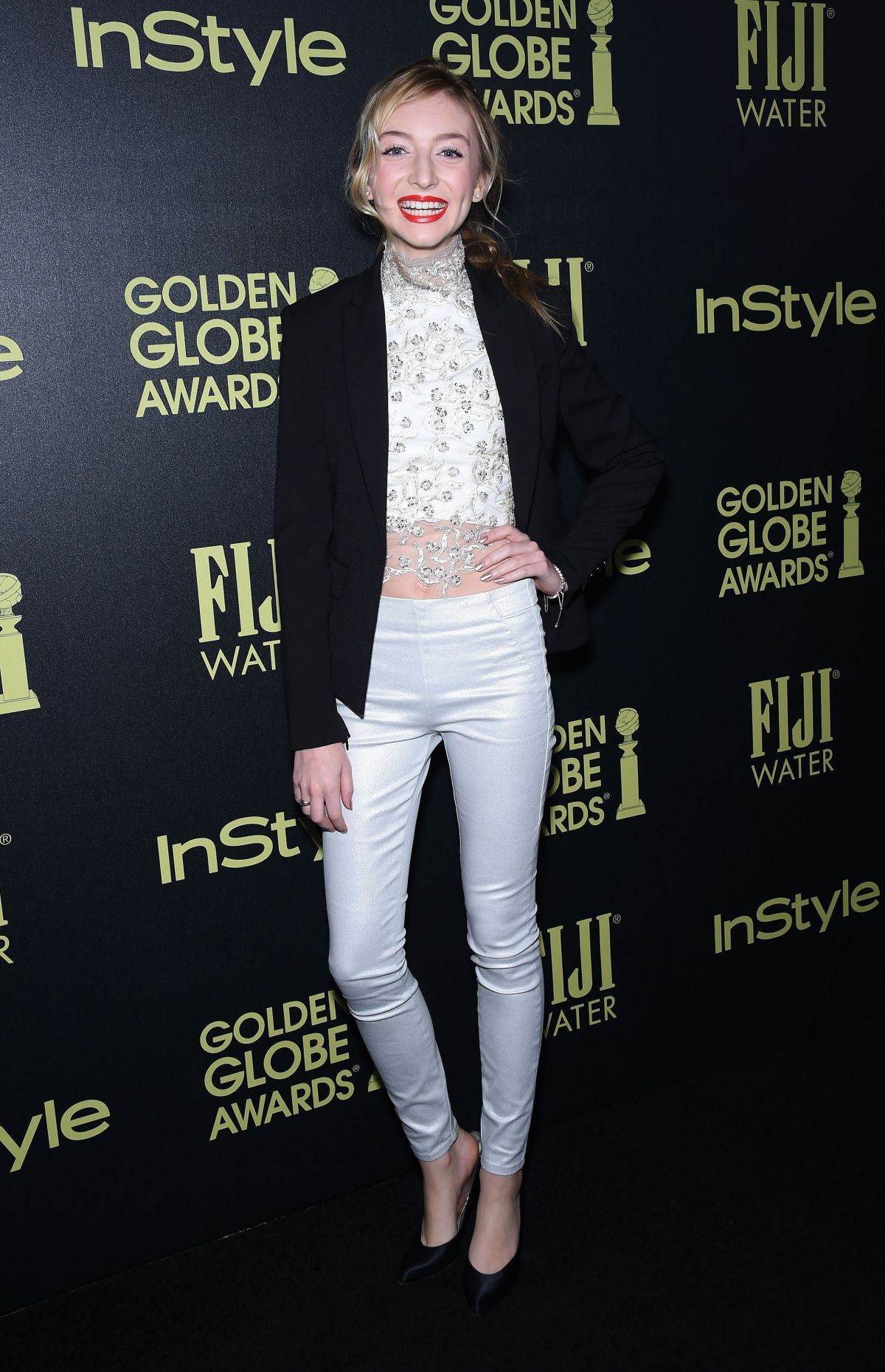 HANA HAYES at hfpa and Instyle Celebrate 2016 Golden Globe Award Season in West Hollywood 11/17/2015