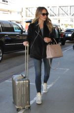 HANNAH DAVIS at LAX Airport in Los Angeles 11/12/2015