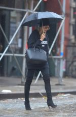 HAULEY BALDWIN Out in New York 10/28/2015