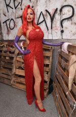 HEIDI KLUM at 16th Annual Heidi Klum Halloween Party in New York 10/31/2015