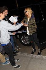 HEIDI KLUM Leaves LAX Airport in Los Angeles 11/27/2015