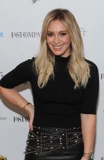 HILARY DUFF at The Fast Company Innovation Festival Inside TV Land