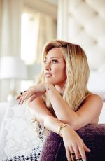 HILARY DUFF by Frankie Batista for Glamour Magazine, Mexico November 2015 Issue