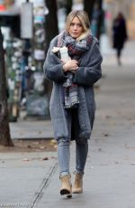 HILARY DUFF on the Set of Younger in New York 11/19/2015