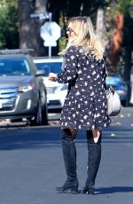 HILARY DUFF Out in New York 11/26/2015