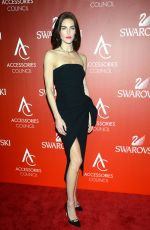 HILARY RHODA at 18th Annual Accessories Council Ace Awards in New York 11/02/2015