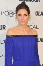 HILARY RHODA at Glamour's 25th Anniversary Women of the Year Awards in New York 11/09/2015