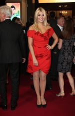 HOLLY WILLOUGHBY at ITV 60th Anniversary Gala in London 11/19/2015