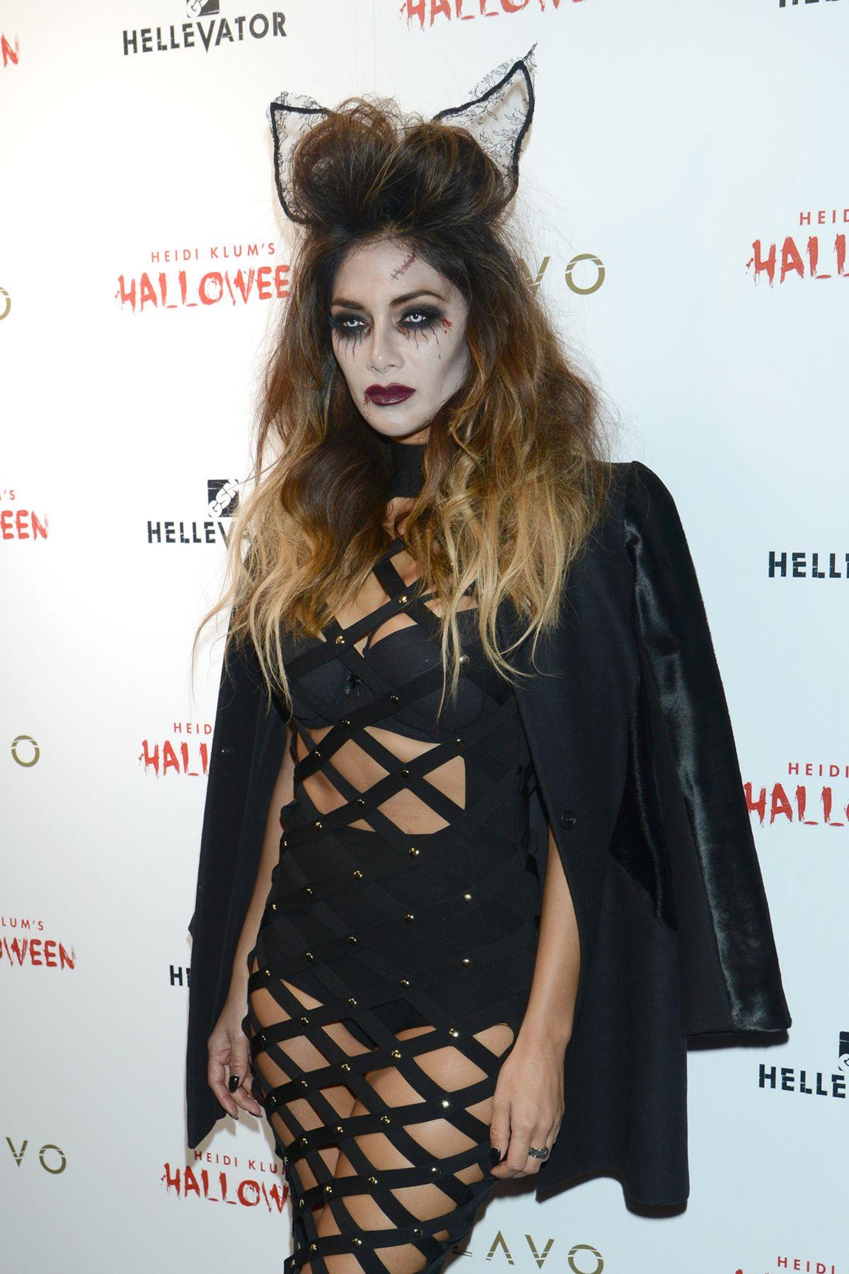 NICOLE SCHERZINGER at Heidi Klum Halloween Party in New York 10/31 ...