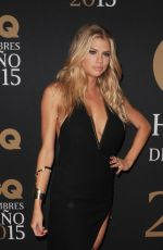 CHARLOTTE MCKINNEY at GQ Men of the Year Mexico Awards 11/04/2015