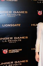JENNIFER LAWRENCE at The Hunger Games: Mockingjay, Part 2 Premiere in Paris 11/09/2015
