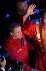 HAYDEN PANETTIERE at Klitschko vs Fury Fight in Dusseldorf 11/28/2015