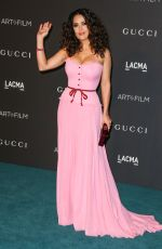 SALMA HAYEK at LACMA 2015 Art+Film Gala Honoring James Turrell and Alejandro G Inarritu in Los Angeles 11/07/2015