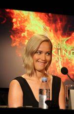 JENNIFER LAWRENCE at The Hunger Games: Mockingjay, Part 2 Press Conference 10/31/2015
