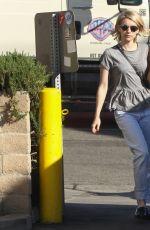 EMMA ROBERTS Shopping at Barney\