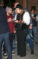 ADELE Out and About in New York 11/20/2015